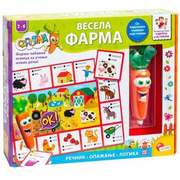 Carotina SR Edukativna igra Farma Lisciani 79988 - ODDO igračke