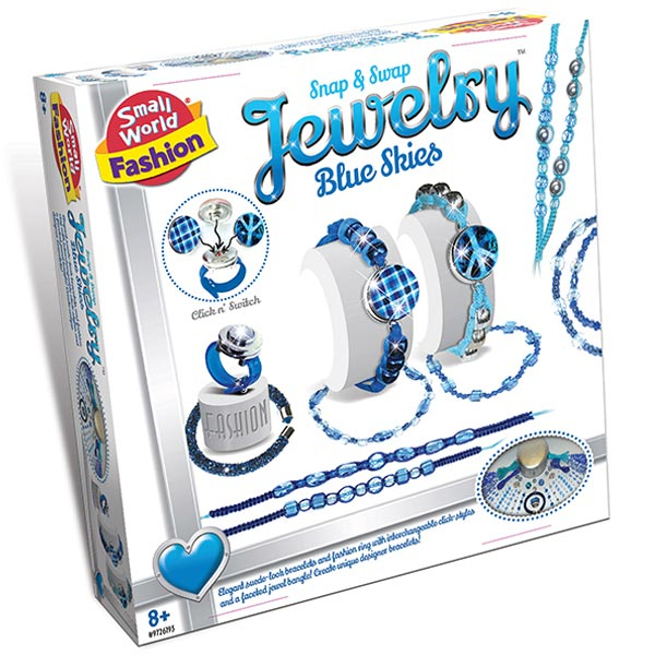 Kreiraj narukvicu Blue skies Creative Toys CT-6193 - ODDO igračke