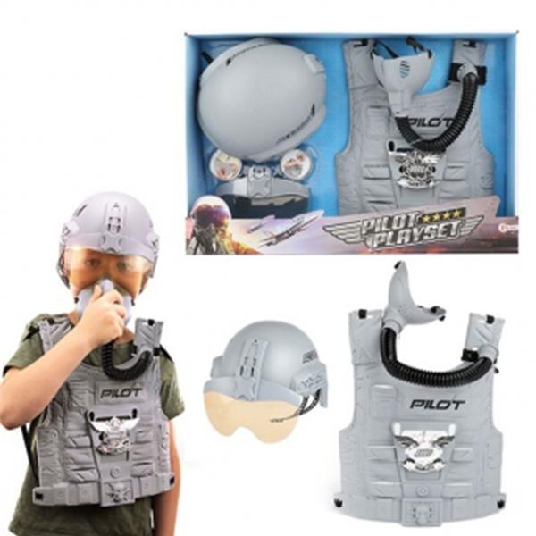 Pilot set kaciga, prsluk i maska 15450A - ODDO igračke