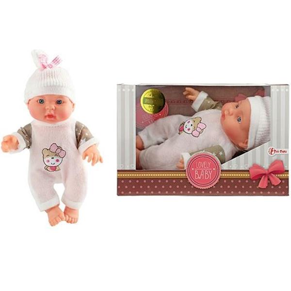 Lutka beba sa kapom 23cm 02157A - ODDO igračke