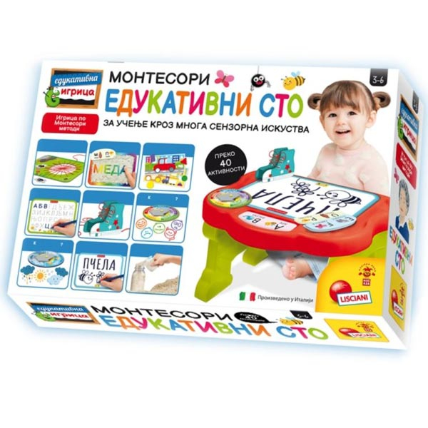 Montesori Edukativna igra Moj prvi Montesori sto RS76734 - ODDO igračke
