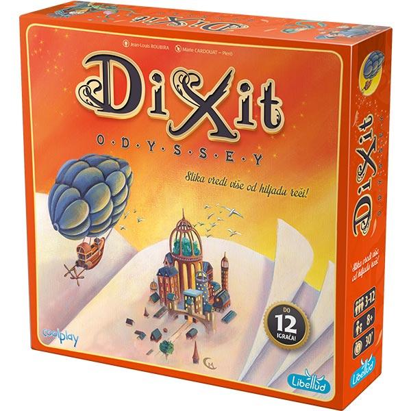 Društvena igra Dixit Odyssey Srpski jezik - ODDO igračke