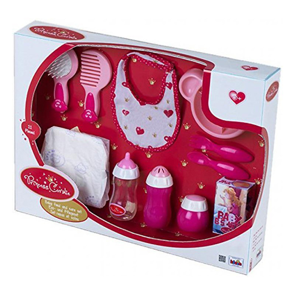 Princeza Coralie - Set za hranjenje i negu Klein KL1732 - ODDO igračke