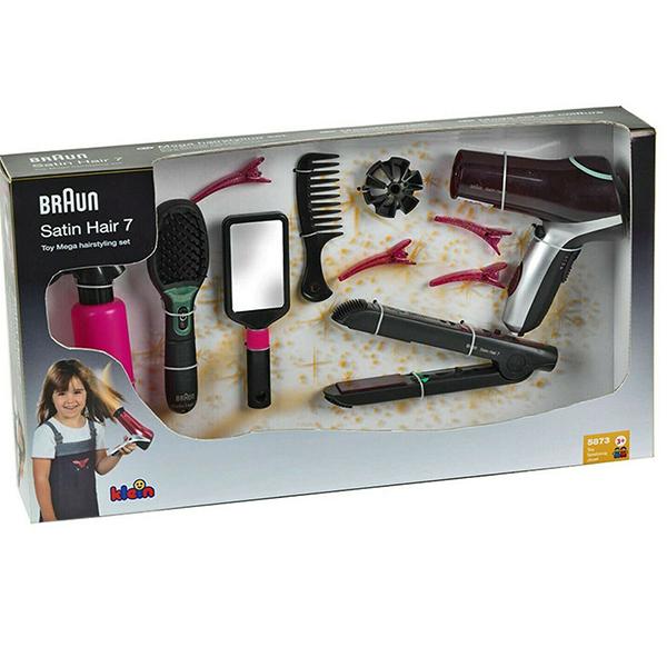 Mega set za kosu sa Braun Satin Hair 7 četkom Klein KL5873 - ODDO igračke