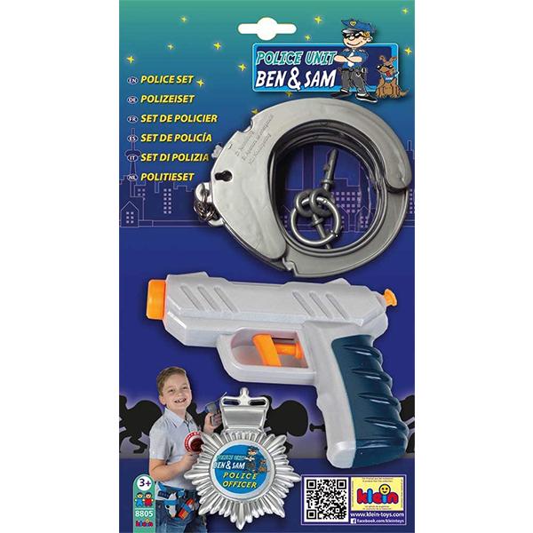 Policijski set 3 dela Klein KL8805 - ODDO igračke