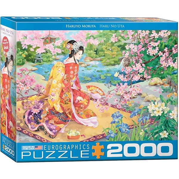 Eurographics puzzle 2000 pcs Haru No uta 8220-0975 - ODDO igračke