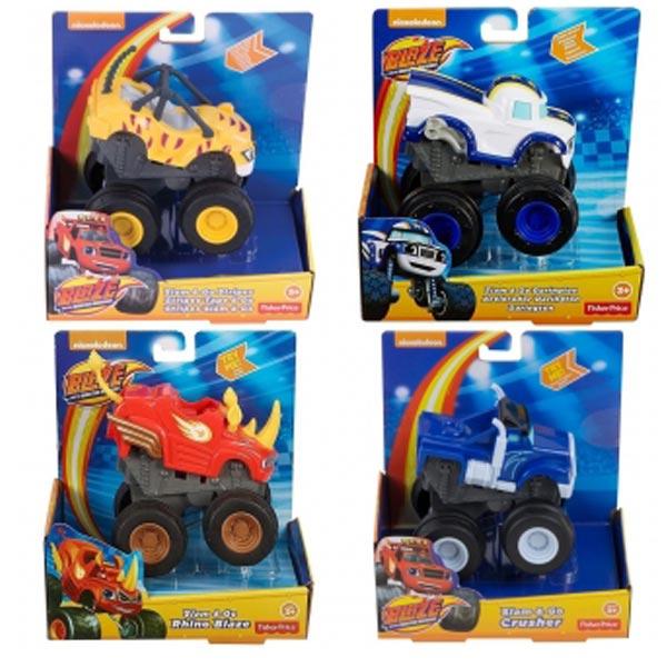 Blaze and the Monster Machine Slam and Go 4ass Mattel CGK22 - ODDO igračke
