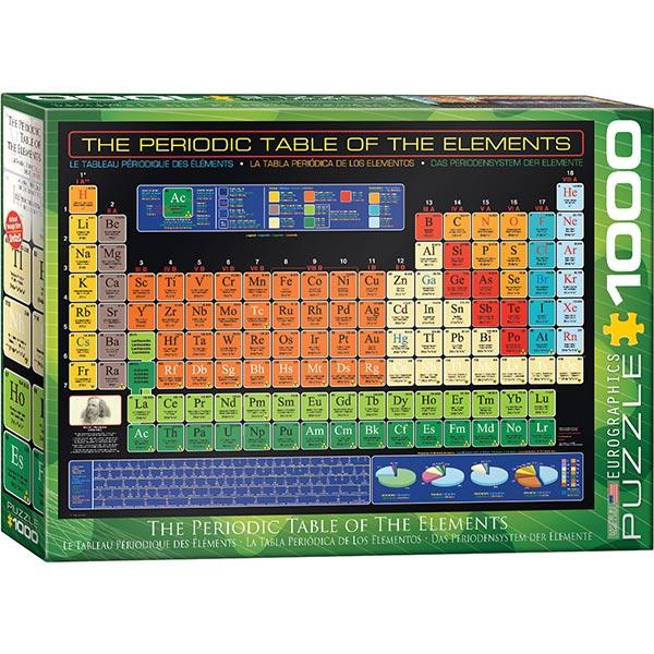 Eurographics puzzle The Periodic Table of the Elements 1000 pcs 6000-1001 - ODDO igračke