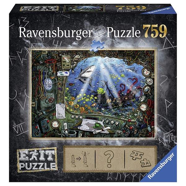 Ravensburger puzzla slagalica 759pcs Exit Podmornica 19953/19959 - ODDO igračke