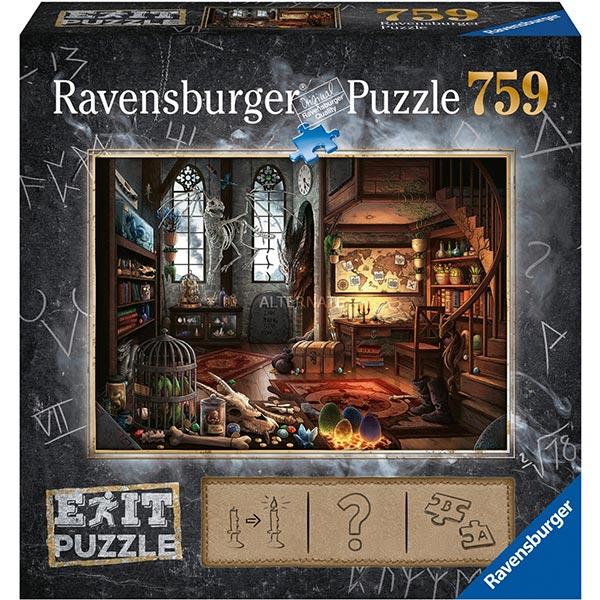 Ravensburger puzzla slagalica 759pcs Exit Zmajev dvorac 19954 - ODDO igračke