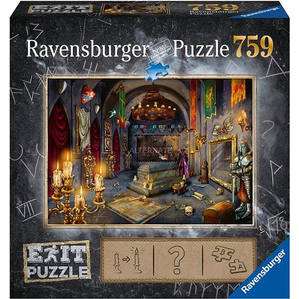 Ravensburger puzzla slagalica 759pcs Exit Drakulin Zamak 19955/19961 - ODDO igračke