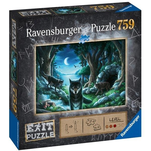 Ravensburger puzzla slagalica 759pcs Exit Vuk 15028 - ODDO igračke