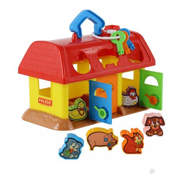 Kućica Farma sa oblicima 9173 Polesie - ODDO igračke