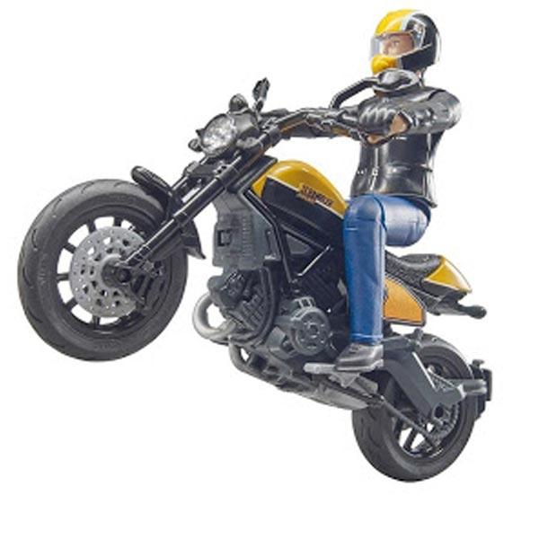 Ducati Scrambler sa vozačem Bruder 630539 - ODDO igračke
