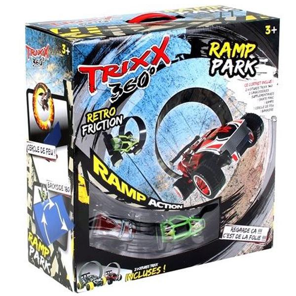 Staza Trixx 360 Ramp sa dva autica 35x37cm 90425 - ODDO igračke