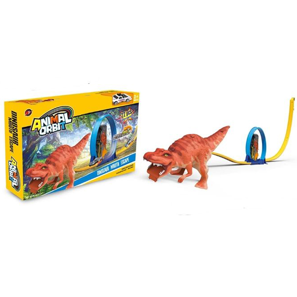 Auto staza Dinosaurus Monster Animal Orbit 22pcs 29x45x7,5cm MX0268629 - ODDO igračke