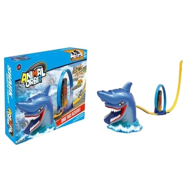 Auto staza Ajkula Monster Animal Orbit 22pcs 29x45x7,5cm MX0255508 - ODDO igračke
