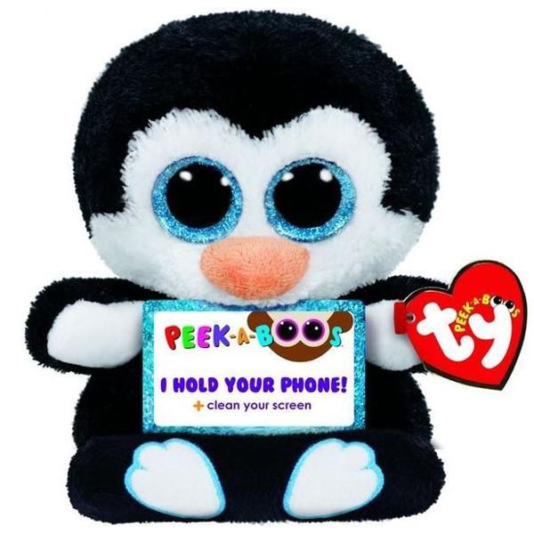 Ty Pliš Drzač telefona Pingvin Penni 15cm 00001 - ODDO igračke
