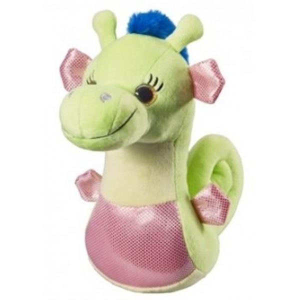 Plišani Morski konjić zeleni,roze i lila 25cm 14261 - ODDO igračke