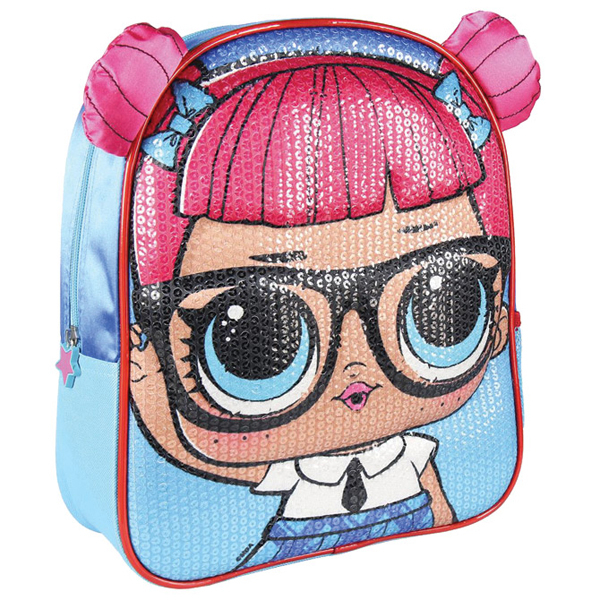 Ranac predškolski 3D/oblik Lol Cerda 2100003014 plavo-roze - ODDO igračke