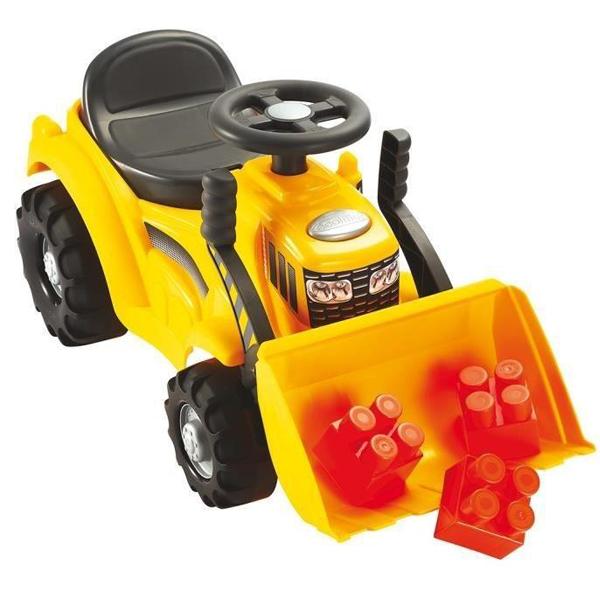 Guralica buldožer Maxi Écoiffier sa 6 kocki SM007849      - ODDO igračke