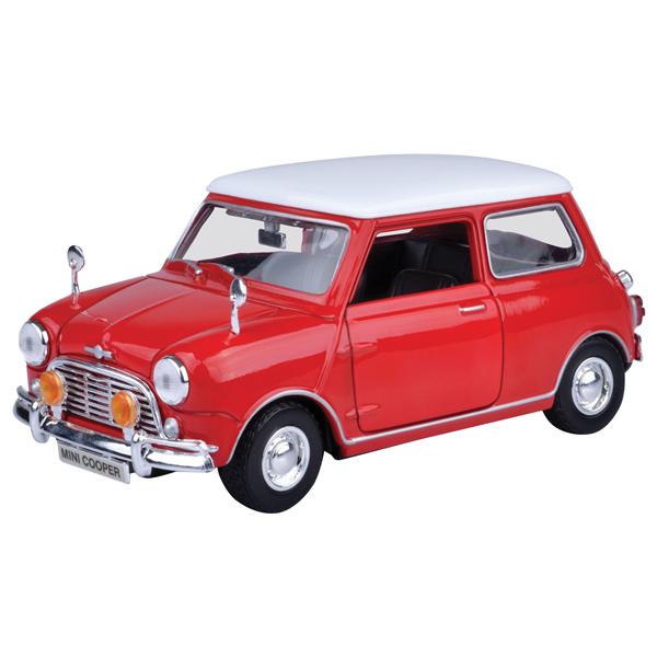 Motor Max metalni auto 1:18 1961-67 Morris Mini Cooper 25/73113 - ODDO igračke