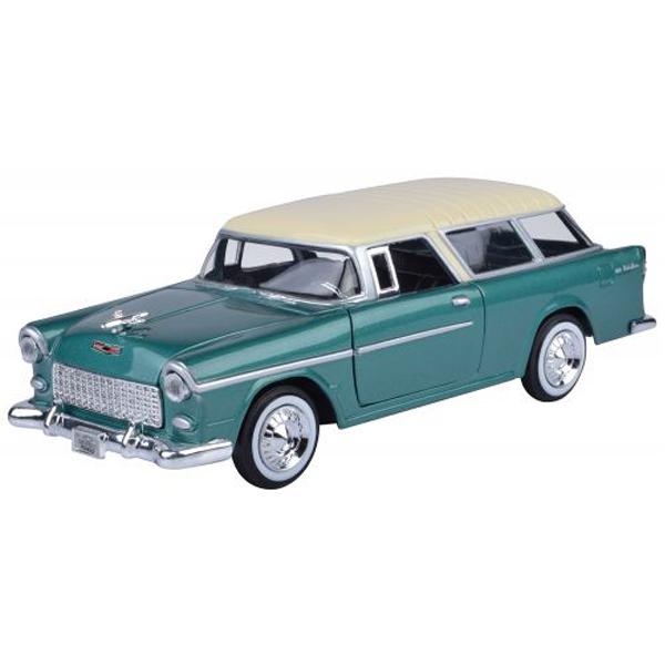 Motor Max metalni auto 1:24 1955 Chevy Bel Air Nomad 25/73248AC - ODDO igračke