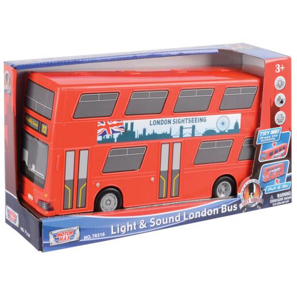"Motor Max 12"" Light and Sound London Bus 25/78316 - ODDO igračke"