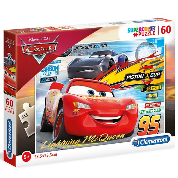 Clementoni puzzla 60pcs Cars 3 26973 - ODDO igračke