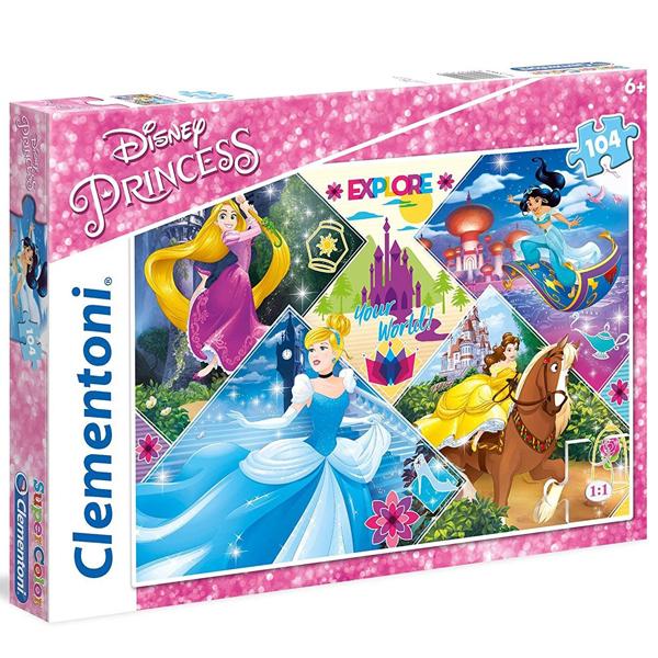 Clementoni puzzla Disney Princess 104pcs 27091 - ODDO igračke