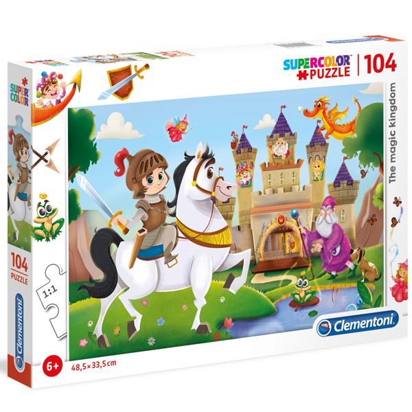 Clementoni puzzla 104pcs The Magic Kingdom 27113 - ODDO igračke