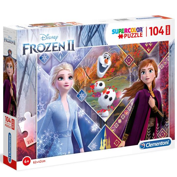 Clementoni puzzla 104pcs Maxi Frozen 2 23739 - ODDO igračke