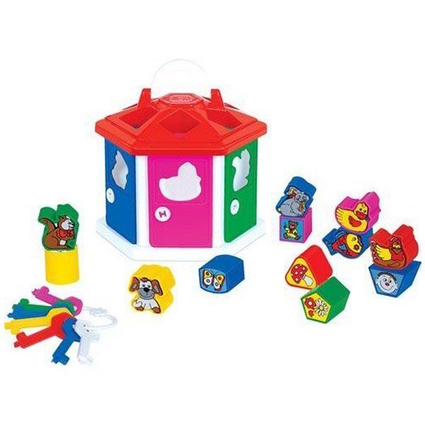 Sorter kućica sa oblicima 17/6011 - ODDO igračke