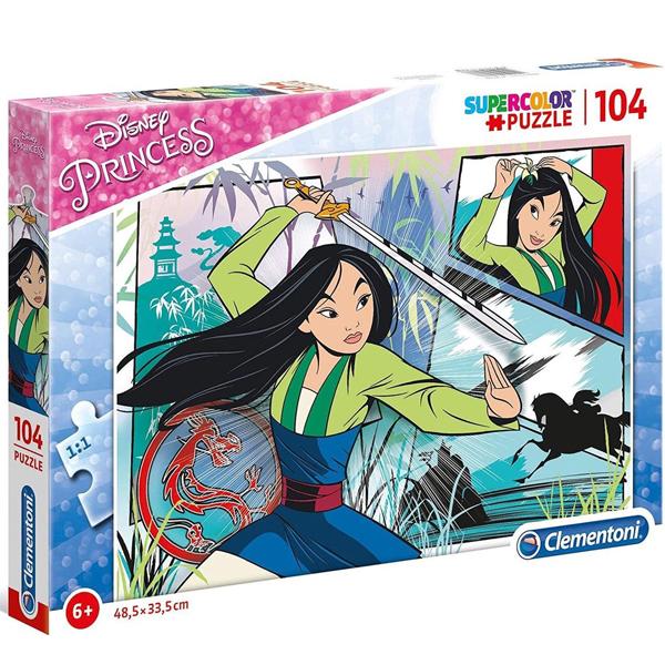 Clementoni puzzla 104pcs Disney Princess Mulan 27136 - ODDO igračke