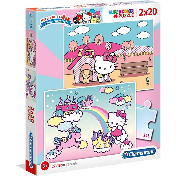Clementoni puzzla 2x20 Hello Kitty 24765 - ODDO igračke