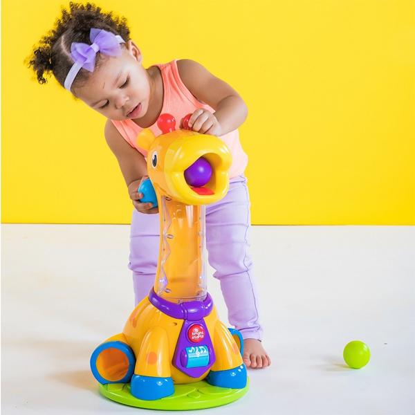 Kids II BS igračka Spin & Giggle Giraffe SKU10933 - ODDO igračke