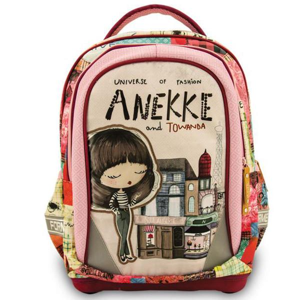 Školska torba anatomska Anekke Chic AFET2040 - ODDO igračke