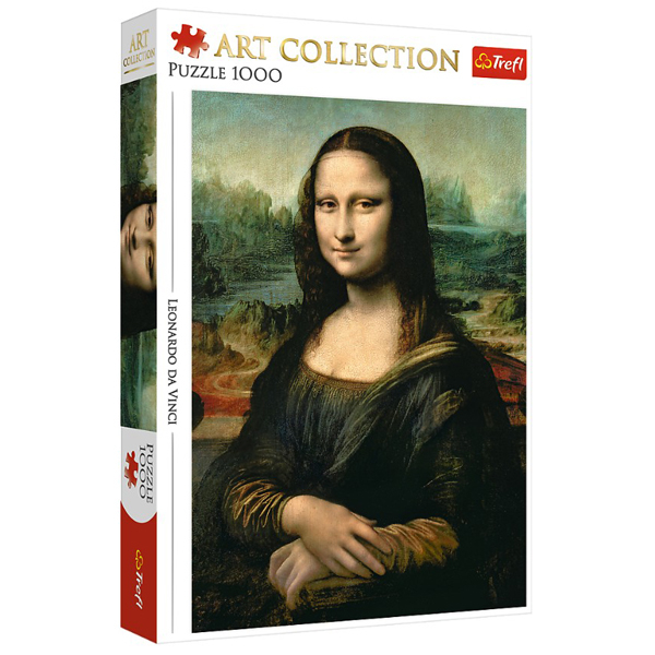 Trefl Puzzla 1000 pcs Art Collection Leonardo da Vinci - Mona Lisa 10542 - ODDO igračke