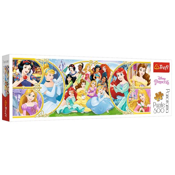 Trefl Puzzla Panorama 500pcs Disney Princess 29514 - ODDO igračke