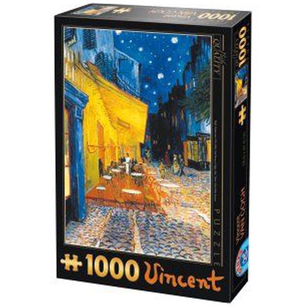 DToys puzzla 1000pcs Van Gogh Cafe Terrace at Night 07/66916-09 - ODDO igračke