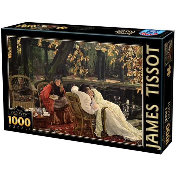 DToys puzzla 1000 pcs James Tissot - A Convalescent 07/72771-02 - ODDO igračke