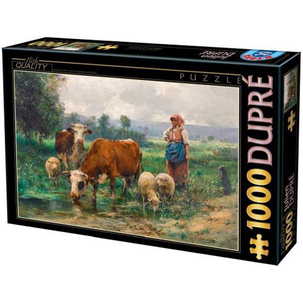 DToys puzzla 1000pcs Julien Dupre La Pastora 07/72788-02 - ODDO igračke