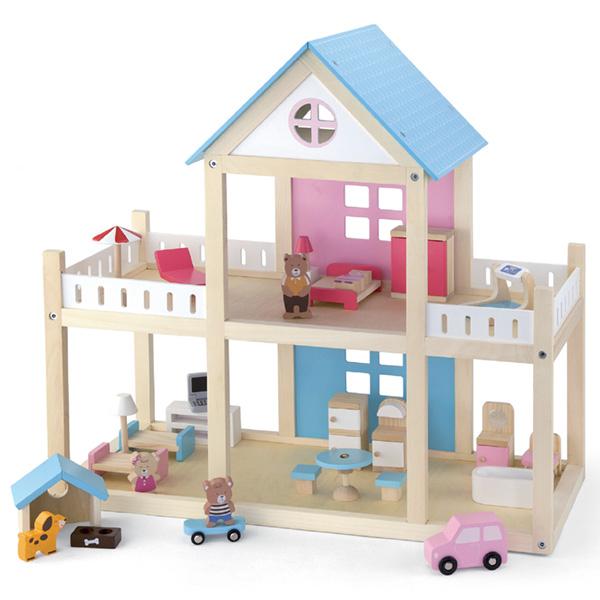 Drvena kućica za lutke Viga 50255-20951 - ODDO igračke