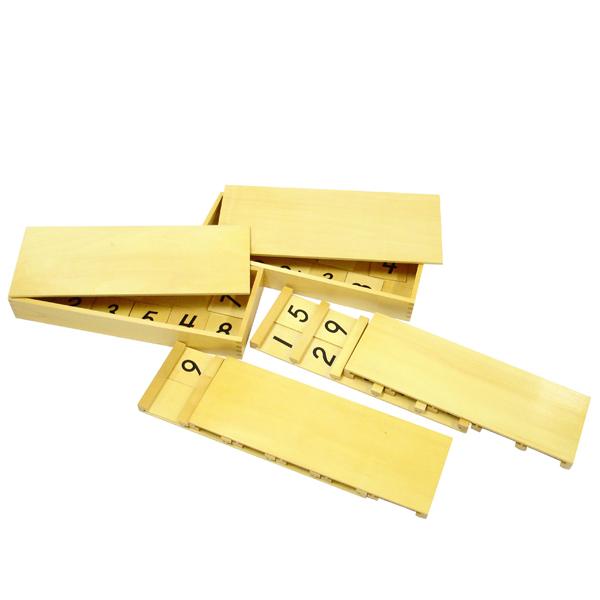 Montesori Seguinove ploče sa brojevima HTM0189-14072 - ODDO igračke