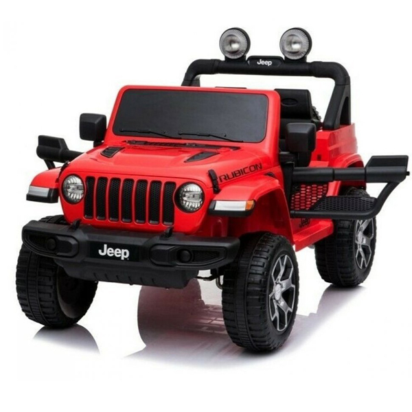Auto na akumulator 12V Jeep Wrangler Rubicon crveni 146814 - ODDO igračke