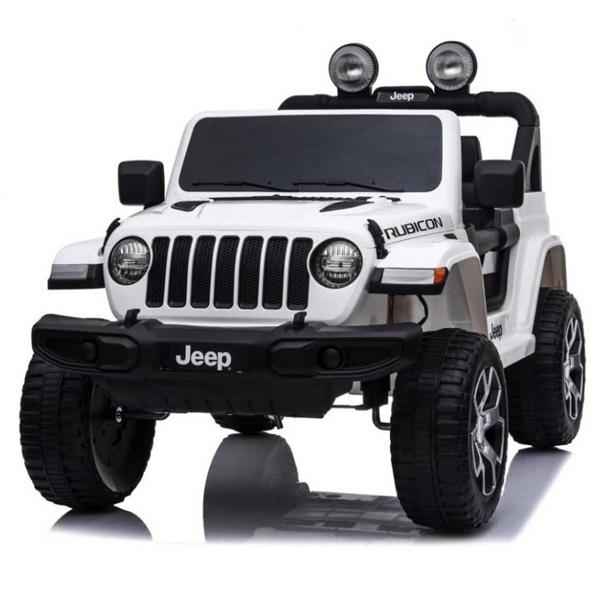 Auto na akumulator 12V Jeep Wrangler Rubicon beli 146791 - ODDO igračke