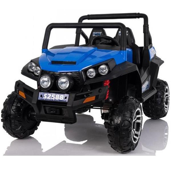 Auto na akumulator Jeep Polaris dvosed plavi 24V 626098 - ODDO igračke