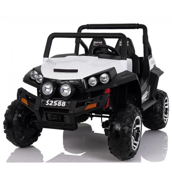 Auto na akumulator Jeep Polaris dvosed beli 24V 626074 - ODDO igračke