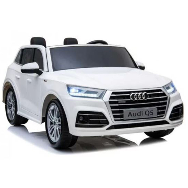 Auto na akumulator Audi Q5 Luxury dvosed beli 24V 268029 - ODDO igračke