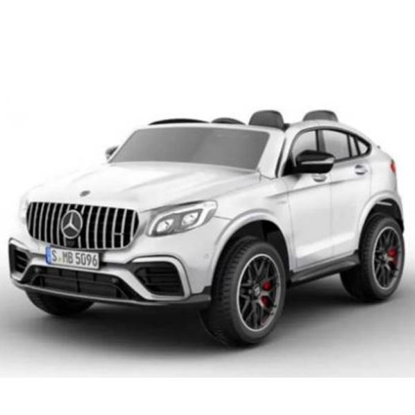 Auto na akumulator Mercedes GLC 63AMG Coupe dvosed 12V beli 146715 - ODDO igračke
